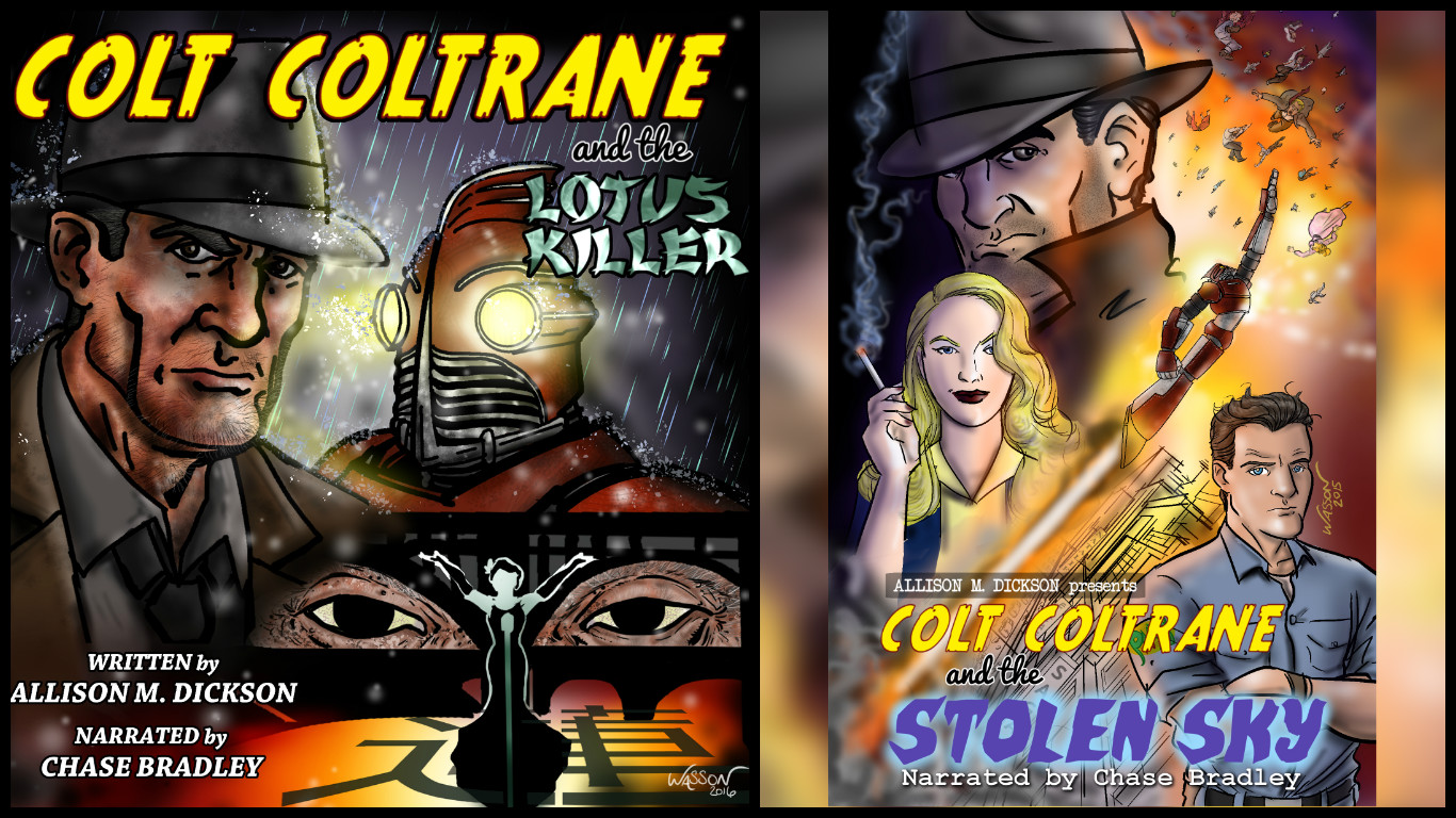 Colt Coltrane Series Now in Stunning Audio!