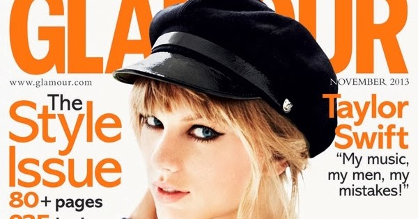 taylor swift glamour uk magazine november 2013