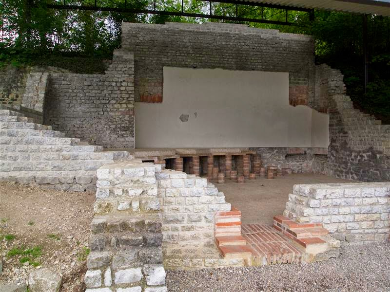 Augusta Raurica - Baños romanos