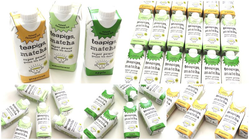 Teapigs Matcha Green Tea Drinks + Giveaway