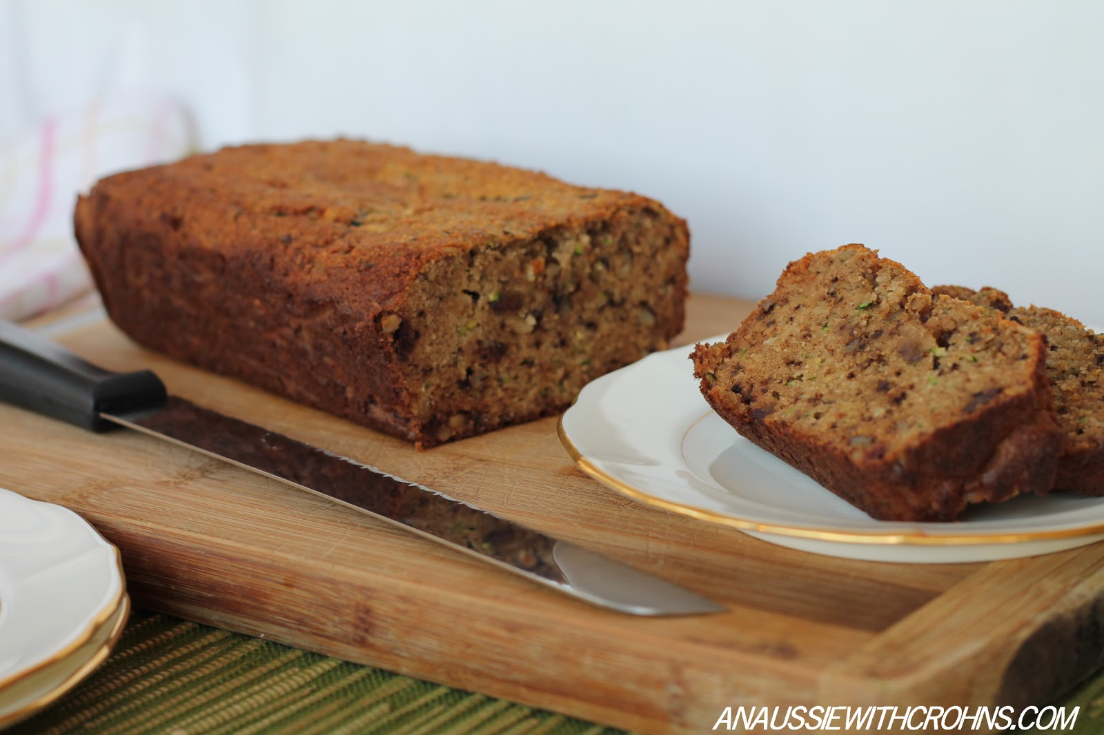 An Aussie With Crohns: Zucchini Bread (Paleo & SCD)