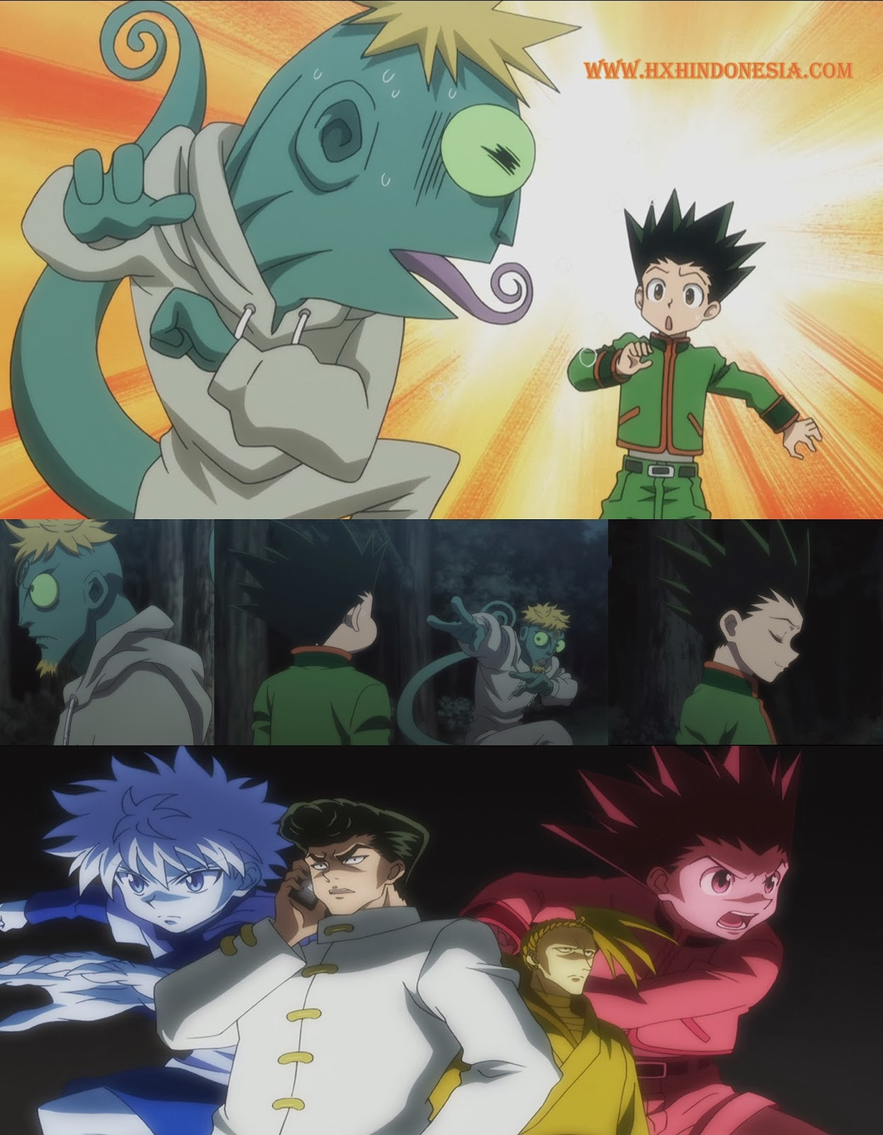 Hunter X Hunter Episode 102 Subtitle Indonesia & English Subs