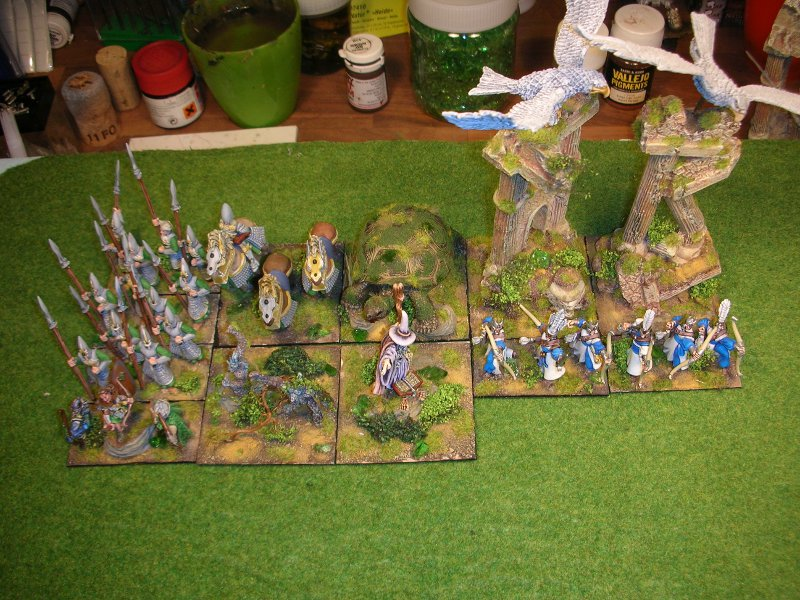 elves - Hordes of the things Elves ArmyWIPHP