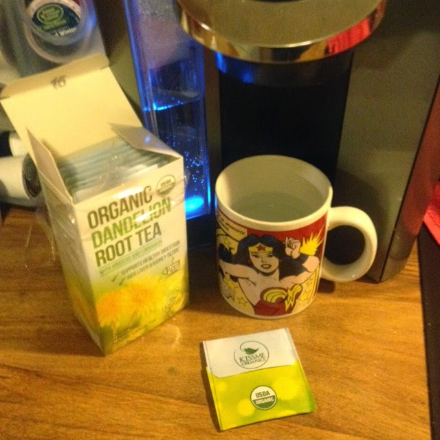 Organic Dandelion Tea from a Keurig