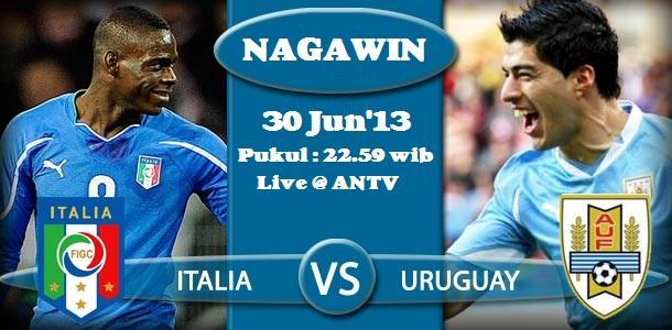 NAGAWIN: Prediksi Uruguay vs Italia (Piala Konfederasi ...