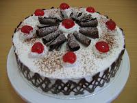Resep Membuat Kue Tart Ulang Tahun Black Forest Sendiri dan Mudah