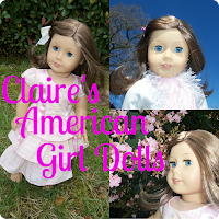 Claire's American Girl Dolls