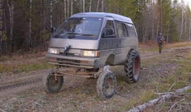 photo homemade off-road vehicle