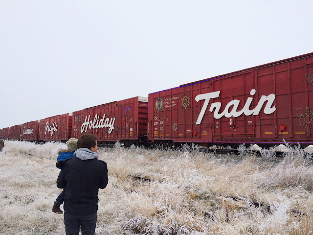 CPR Holiday Train 2015