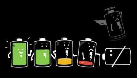 Vida de bateria de celular