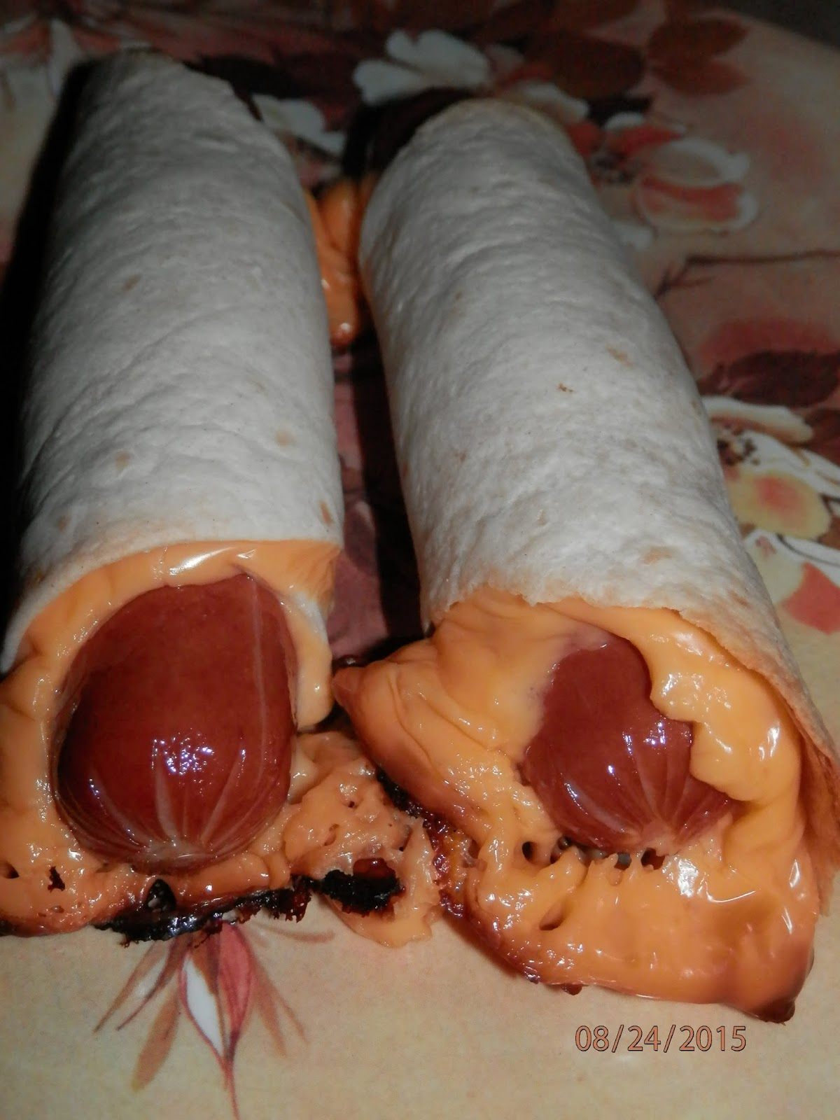 Jazzy allergy recipes egg free dairy free baked tortilla wrapped roll a hot dog into a small tortilla shell if you have medium tortilla shells you can tear them in half if you have large tortilla shells forumfinder Choice Image