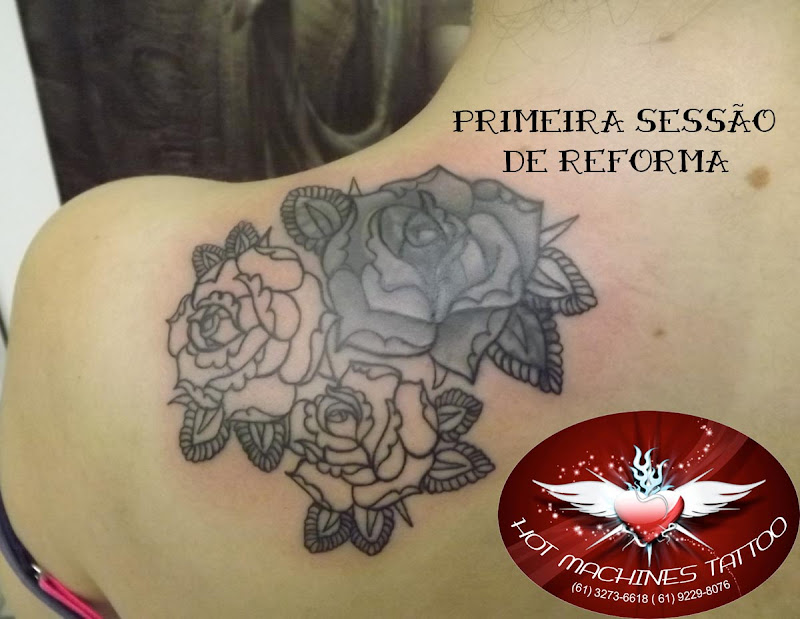 Tattoo Reforma, cover up rosas! title=