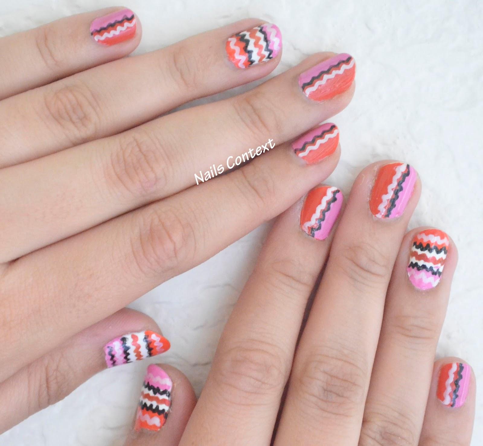 Nails Context: Missoni Nails