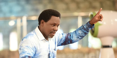 PROPHET T.B JOSHUA - LET GOD RELEASE YOU