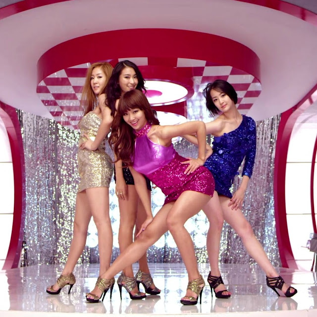 SISTAR @ Samsung GALAXY The 27th Golden Disk Awards