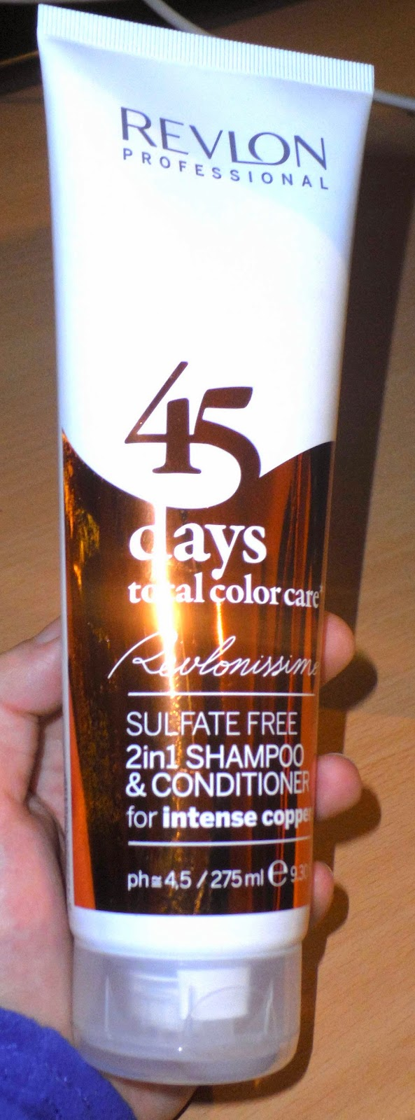 Revlonissimo 45 days color care intense cooper