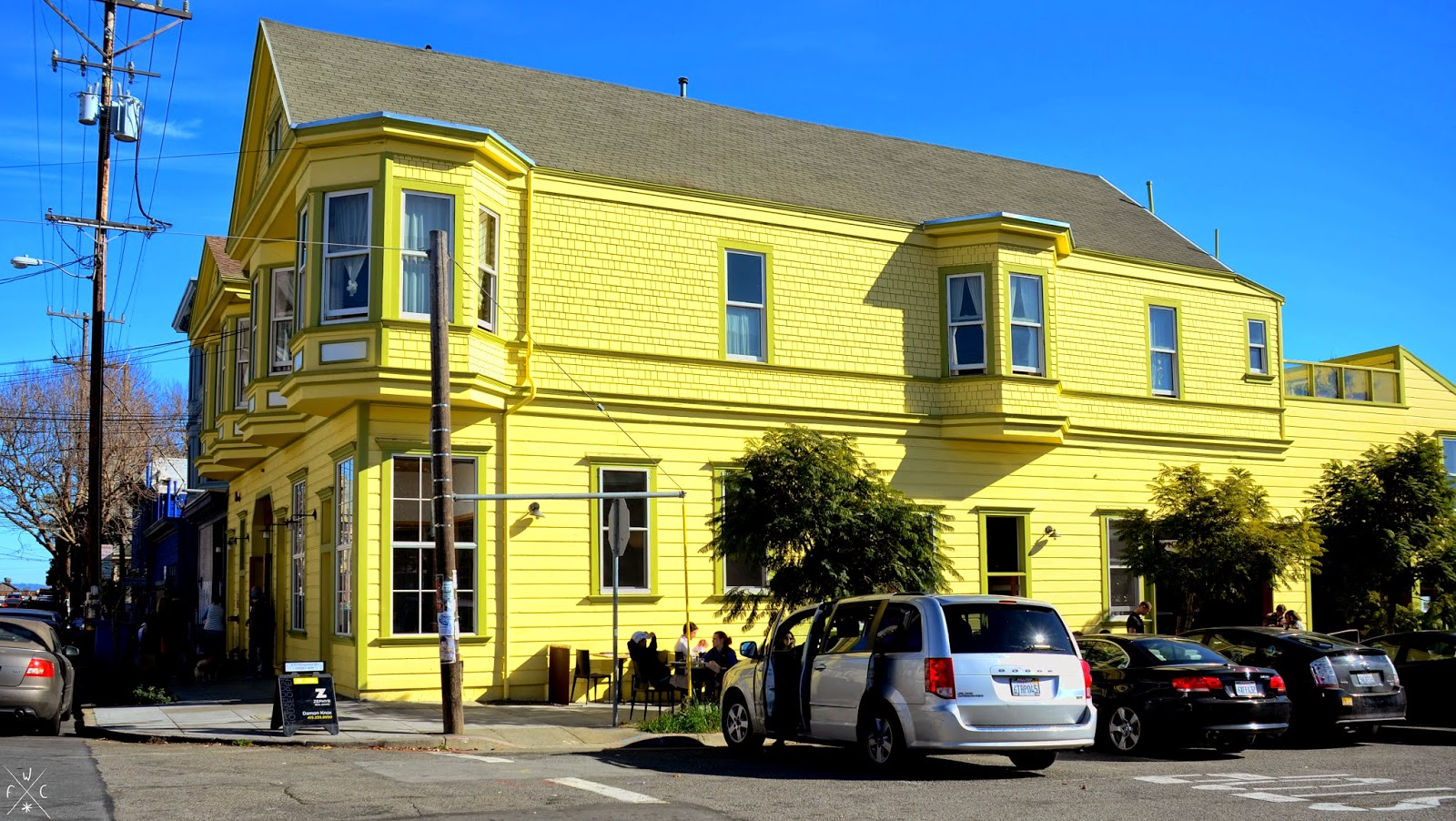 The Yellow Building - Piccino - Dogpatch, San Francisco