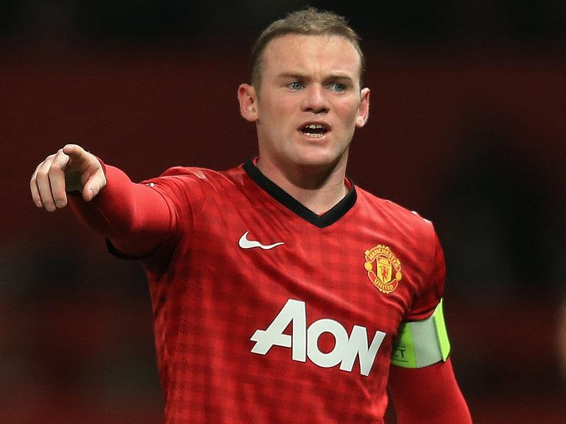 Wayne Rooney Number 8