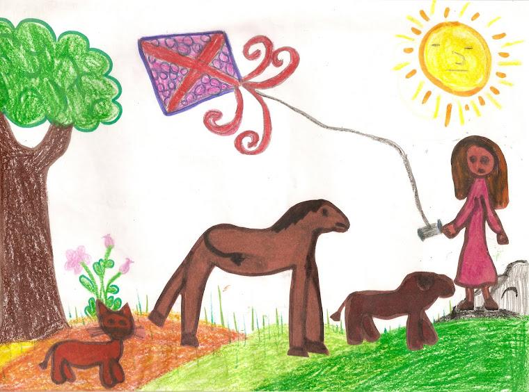 ציור שקיבלתי מילדים באיטליה