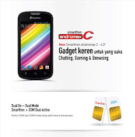 Harga Smartfren Andromax C Terbaru 2013, Hp OS Android 4 ICS