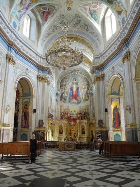 Cathedral of the Immaculate Concertion of Blessed Virgin Mary, Ternopil, Ukraine