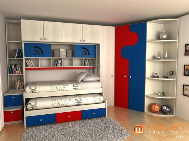 Más Chicos 914 camas , deco , habitaciones Edit