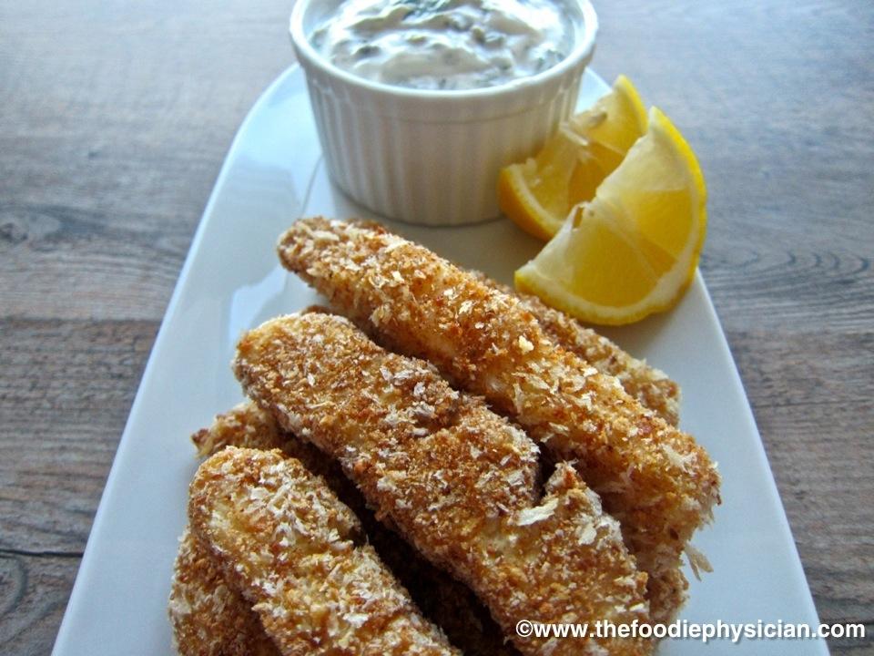 Recipe resuscitation fish sticks the foodie physician for Fish stick recipe