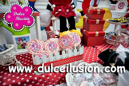 Decoracion Minnie Roja ~   de Fiestas Infantiles DECORACION FIESTA INFANTIL DE LA MINNIE ROJA