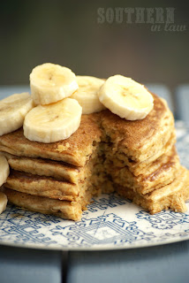 Gluten Free Banana Quinoa Pancake Recipe