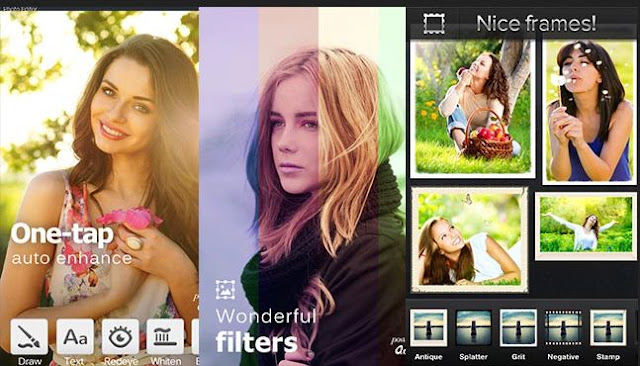Aplikasi edit foto android terbaik - photo editor pro