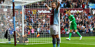 Video Gol Aston Villa vs Manchester City 28 September 2013