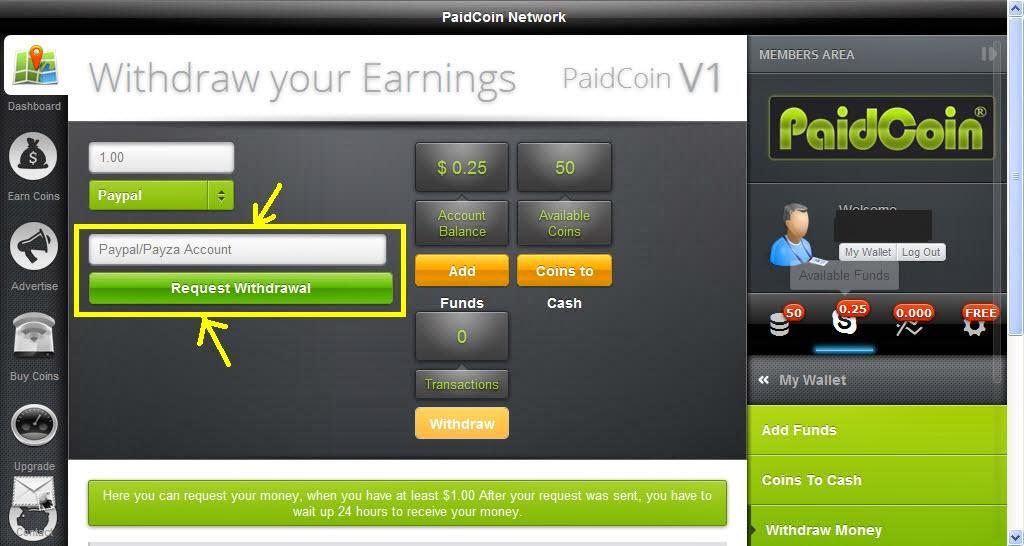 الربح الشبكات الاجتماعية paidcoin اثبات ot549294.jpg
