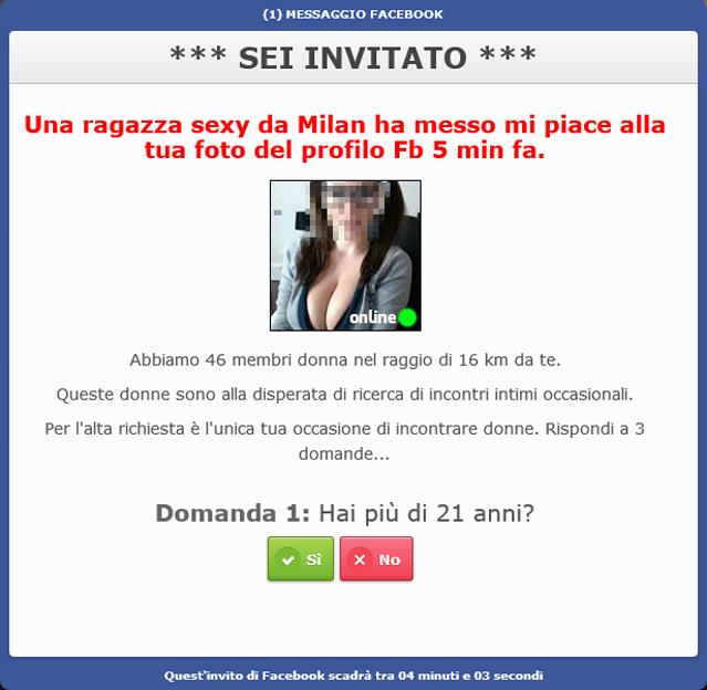 facebook sesso