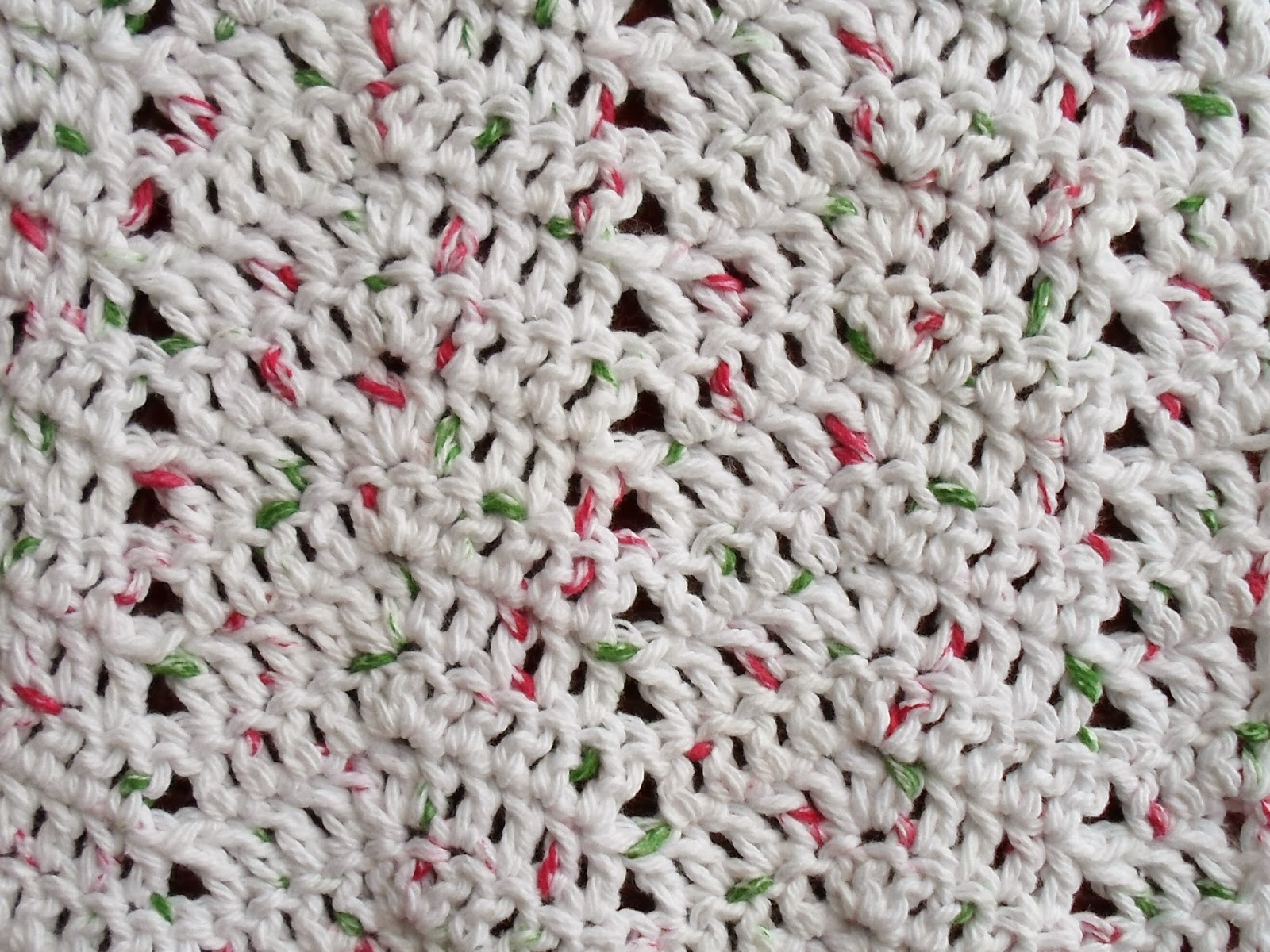 Happier Than A Pig In Mud: Ripple Stitch Crochet Dishcloth, and ...