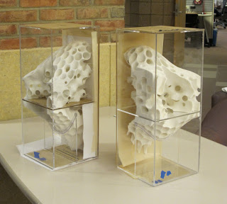 Digital Fabrication for Designers: FRAC Exhibition Models - Fabrication Details