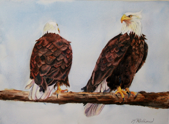 Leslie Redhead Fine Art: May 2012 Ruffled Feathers