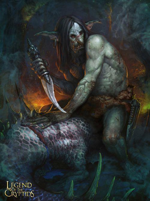 Pavel Romanov cynic-pavel deviantart ilustrações fantasia Goblins