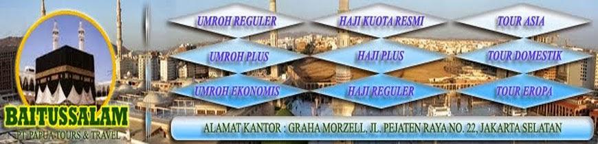 Biro Umroh dan Agen Perjalanan Haji Travel Baitussalam Jakarta Selatan