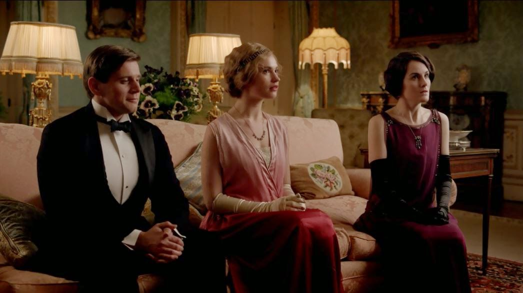 Lady Mary learns she owns half of Downton Abbey