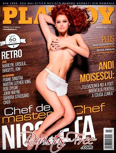 Playboy Romania - Nicoleta Matea - Março 2014