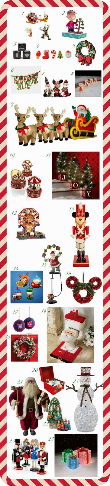 Decoração de Natal lojas no exterior