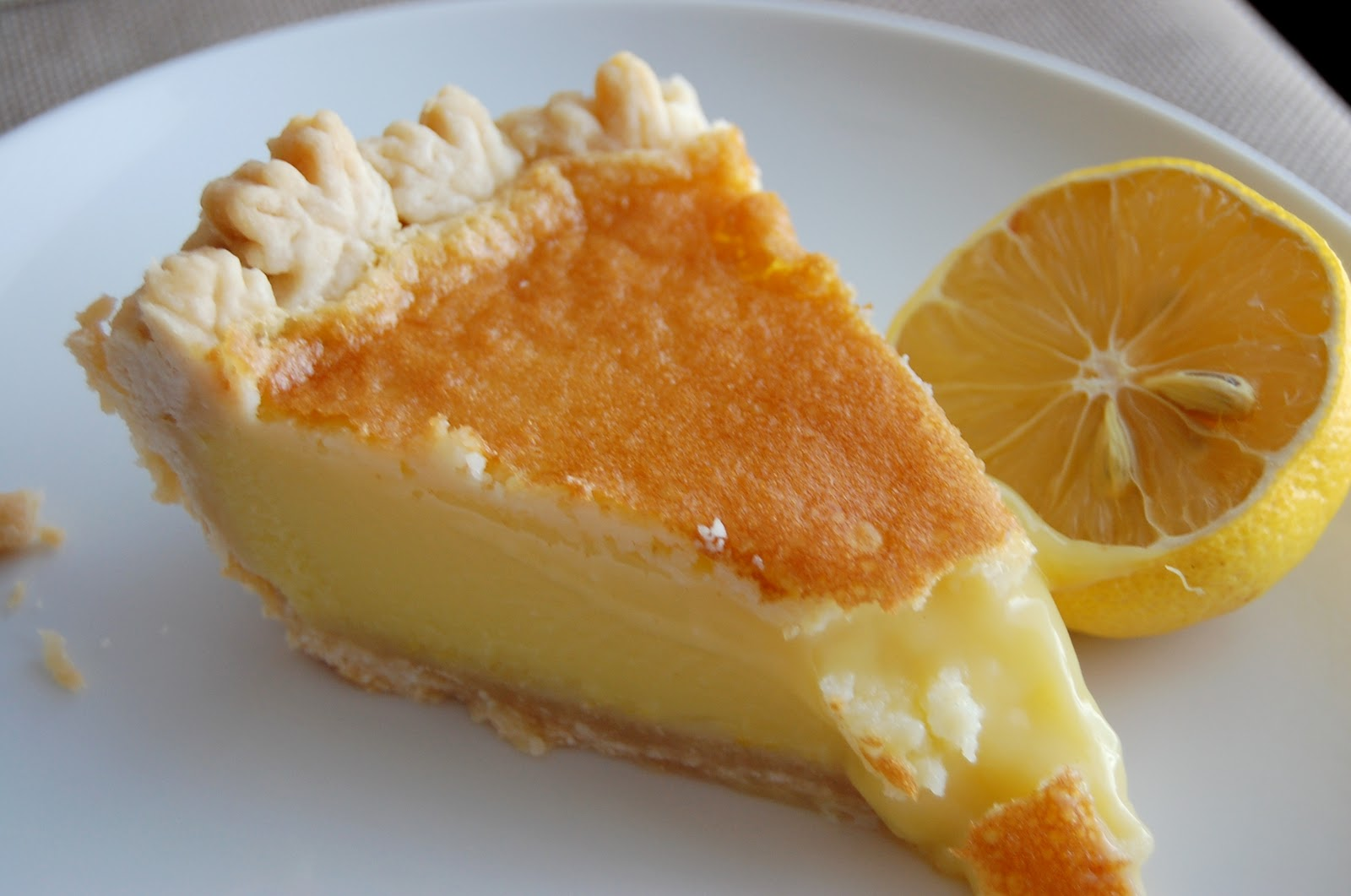 Buttermilk-Lemon Chess Pie Recipe — Dishmaps