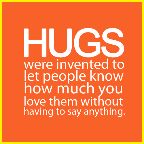 hugs were invented