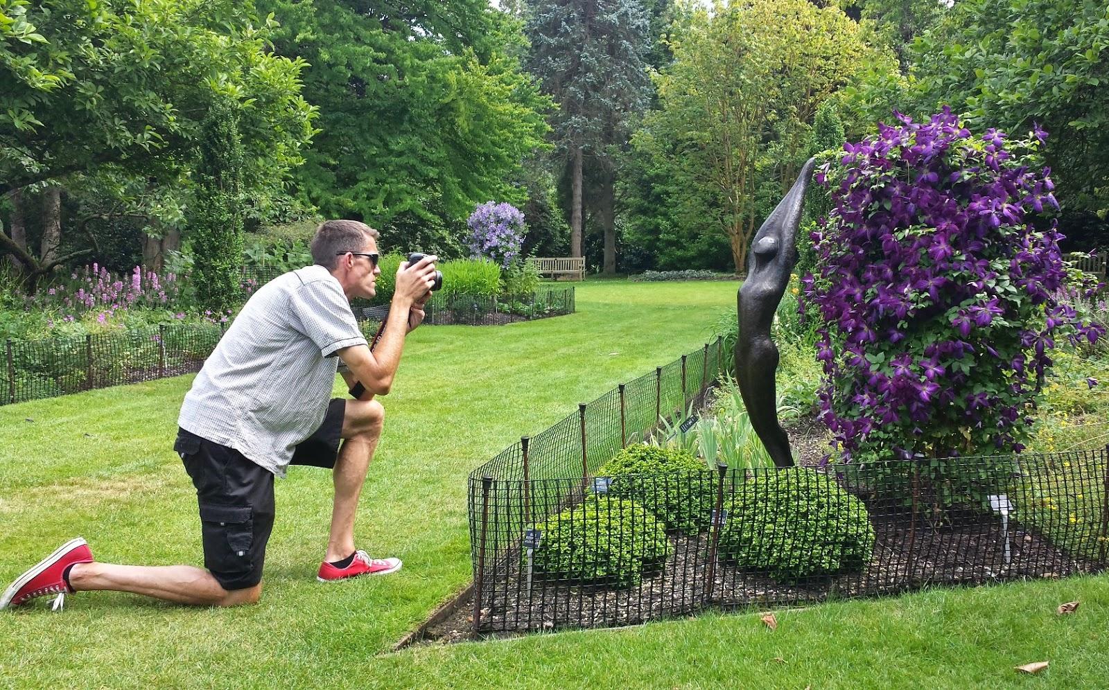 Matt Pringle at Sir Harold Hillier Gardens