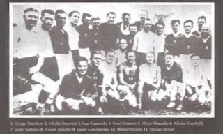 FC Start, el partido de la muerte,trusevich