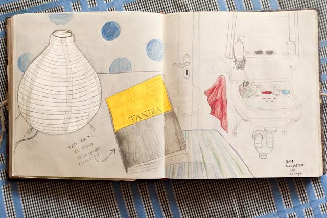 Ilustración libro de Anita Bonilla