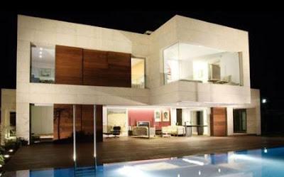 Decoraciones y afinidades fotos de modernas fachadass de - Casas modulares de lujo ...