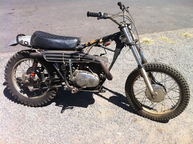 "Well, we found a DT1 250.  1971.  ""Before"""