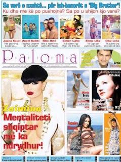 Revista PALOMA - 3 Gusht 2013