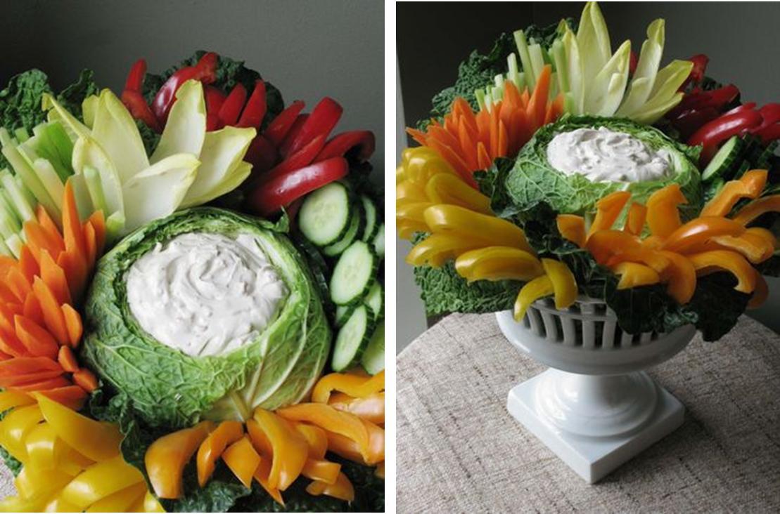 back gallery for baby shower veggie trays